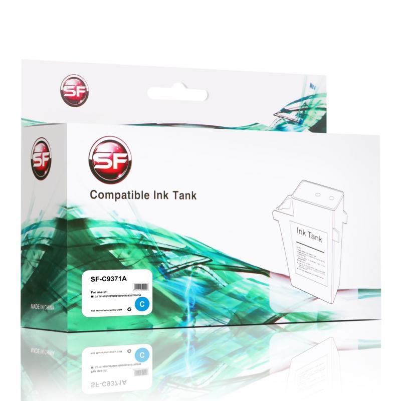 Картридж HP C9371А DJ T1100/1120/1200/1300/610/620/770/790 Cyan SuperFine